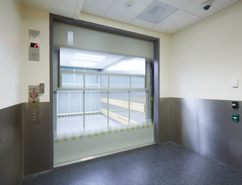 PDX Concourse C Service Elevator