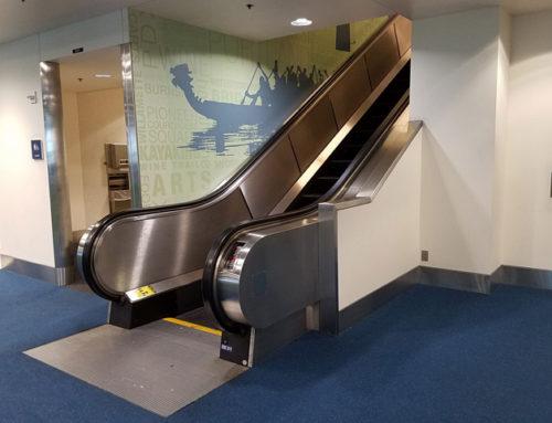 PDX International Arrivals Hall Vertical Transportation Upgrades