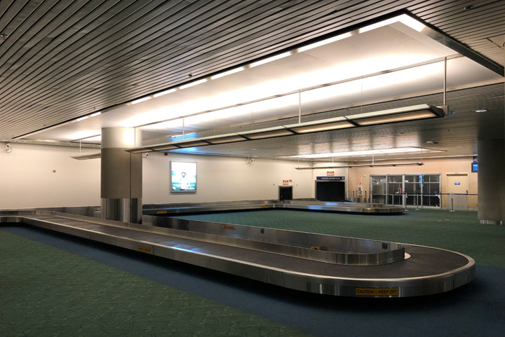 PDX Baggage Claim 9 and 10 Replacement