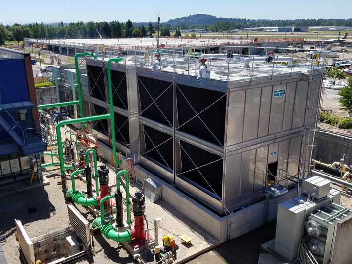 PDX Central Utility Plant Chilled Water Upgrades